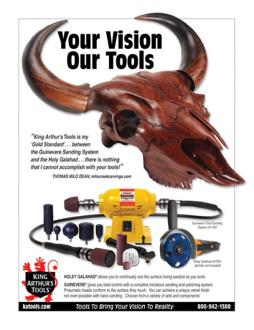 KATools Carving Products Ad