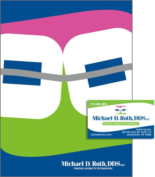 Dr. Roth Pocket Folder, Logo