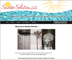 Hot Water Systems Logo & Website